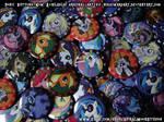 My Little Pony: FiM Pony Buttons