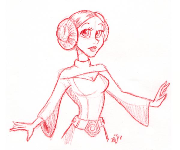 Disney's New Princess by NikkiWardArt