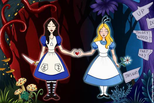 Alice vs. ALICE - Bound by Wonderland