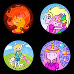 New Adventure Time Buttons
