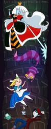 Fionna in Wonderland by NikkiWardArt