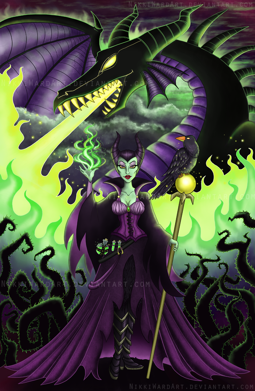 Mistress of All Evil by NikkiWardArt