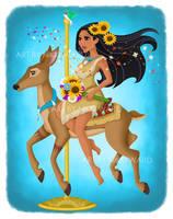 Pocahontas Carousel