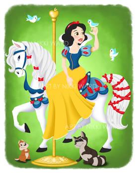 Snow White Carousel