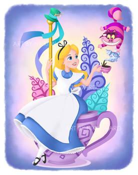 Alice in Wonderland Carousel