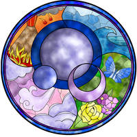 'Elements' - Stained Glass by NikkiWardArt