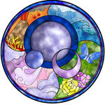 'Elements' - Stained Glass