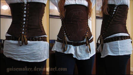 The Forrester Corset by GuiseMaker