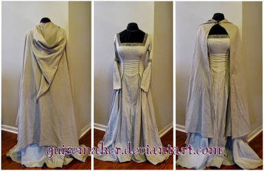 Shield Maiden Dress and Cloak