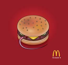 Rat-burger by osunasan
