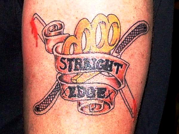 Straight Edge Tattoos: Straight Edge Tattoo By Justicetattoos On DeviantArt