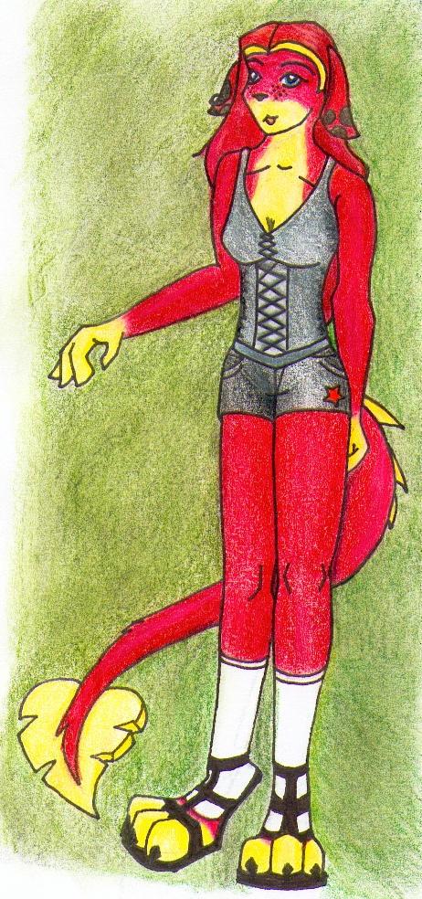 Holly in clubwear by jadedragon01