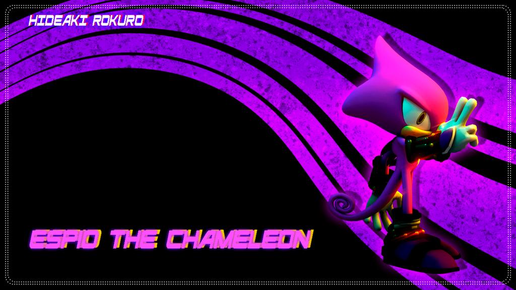 Espio the chameleon wallpaper