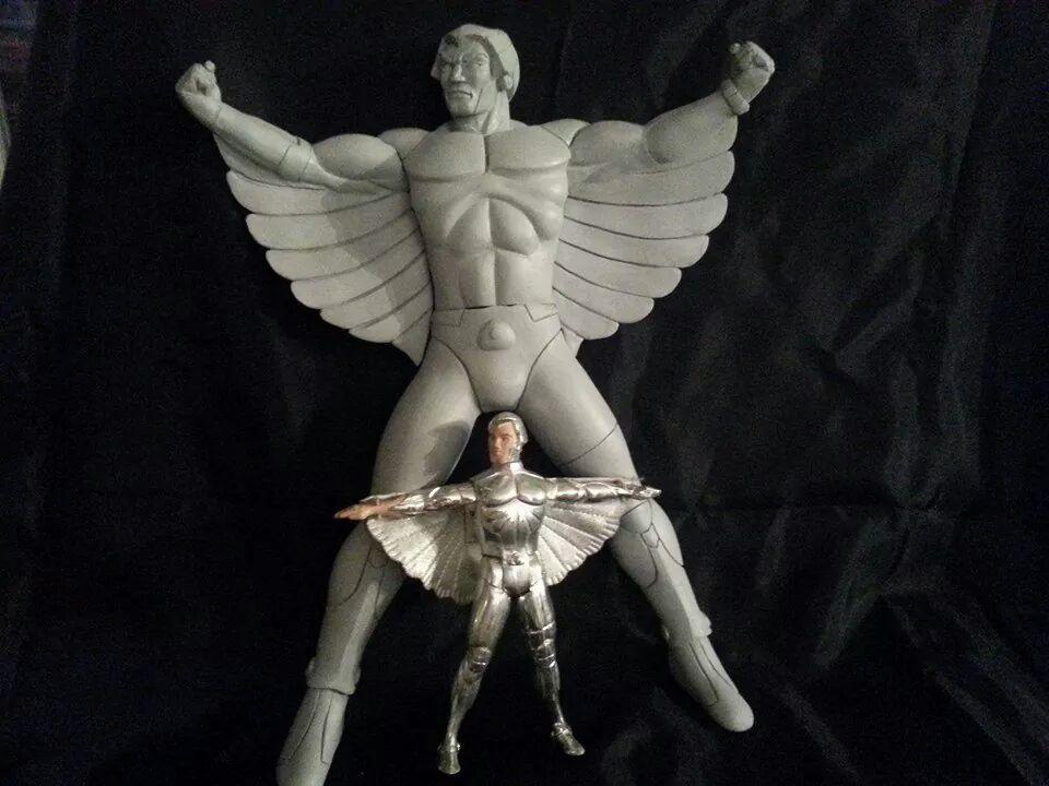 Silverhawks Quicksilver Silverhawk Quicksilver statue