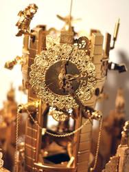 the Golden Clocktower by MoulinBleu