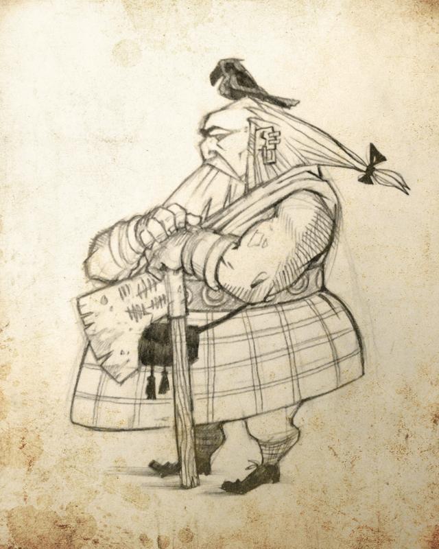 Scottish Warrior by MoulinBleu