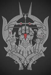 League of Legends Crest Tshirt Design