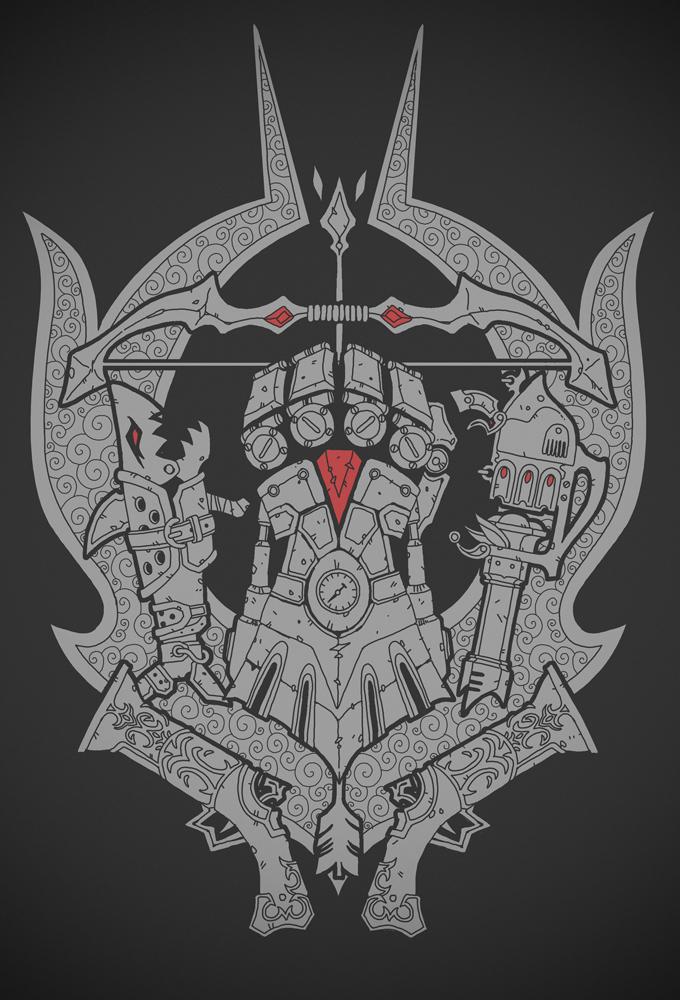 League of Legends Crest Tshirt Design by MoulinBleu