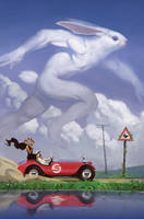 Run, Rabbit Run by MoulinBleu