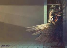 Birdshower by chantalhoreis