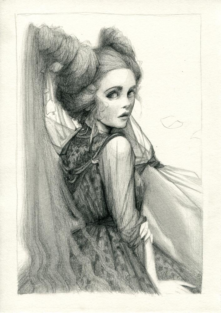 Black Lady by chantalhoreis