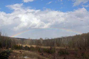 Spring 2019 double rainbow by gmdwilcox