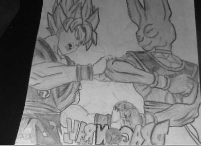 GOKU VS BILL by UltimateGenkai on DeviantArt