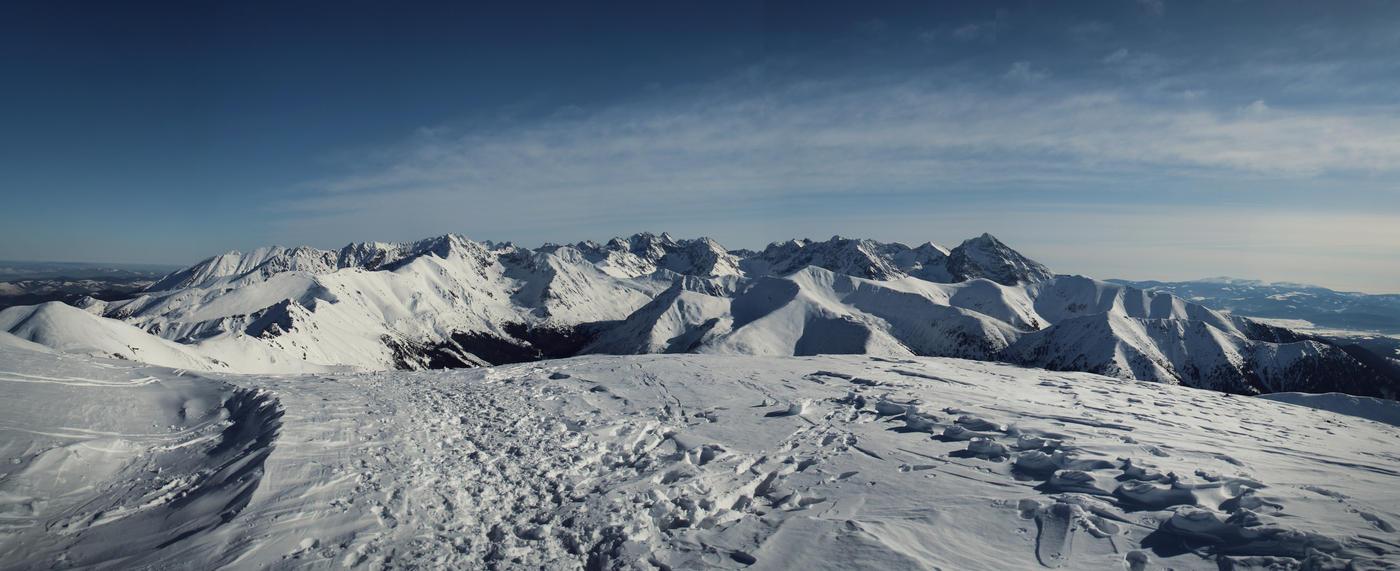 Hi, High Tatras! by kachahaha