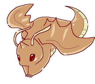 Chibi Dragonite by Kiotii