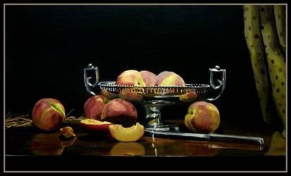 peaches by ruthjohn