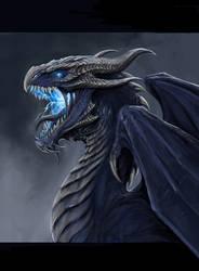 Storm Dragon by TatianaMakeeva