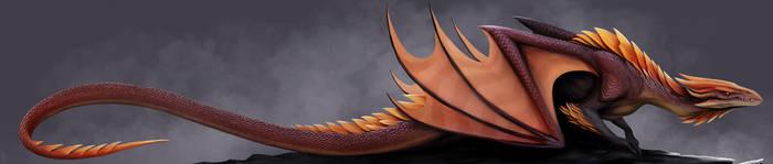 dragon concept by TatianaMakeeva