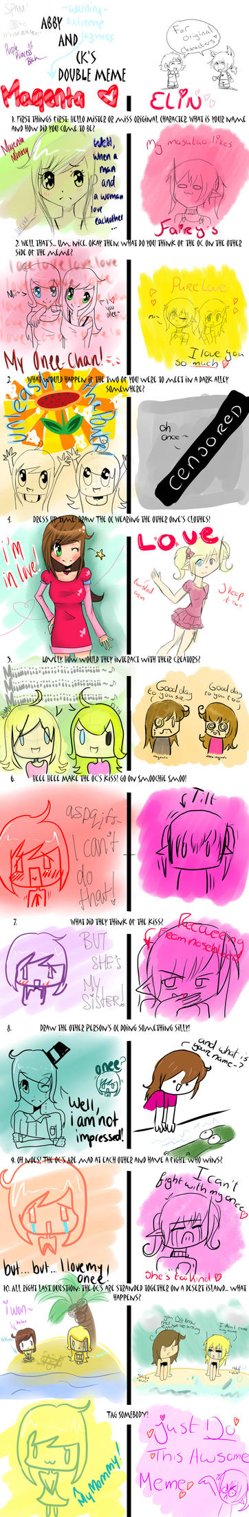 Double meme with awsome onee by JingelChan