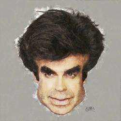 David Copperfield Caricature