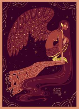 Harpy palette illustration