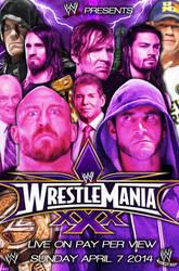 Wrestlemania XXX Custom Poster [HD] by EdgarLazarte