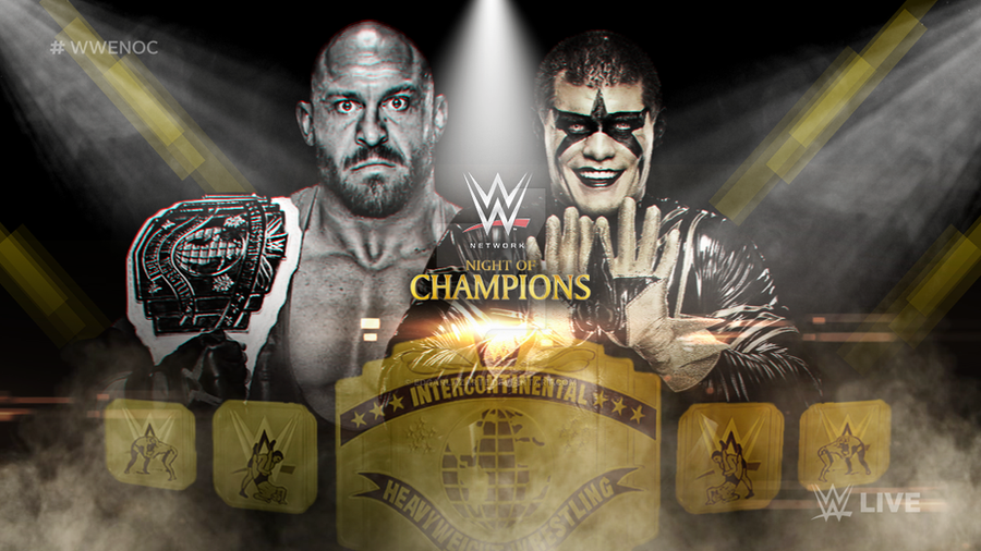 46816b8218493 WWE Night Of Champions 2016 Custom Match Card  HD  by EdgarLazarte ...
