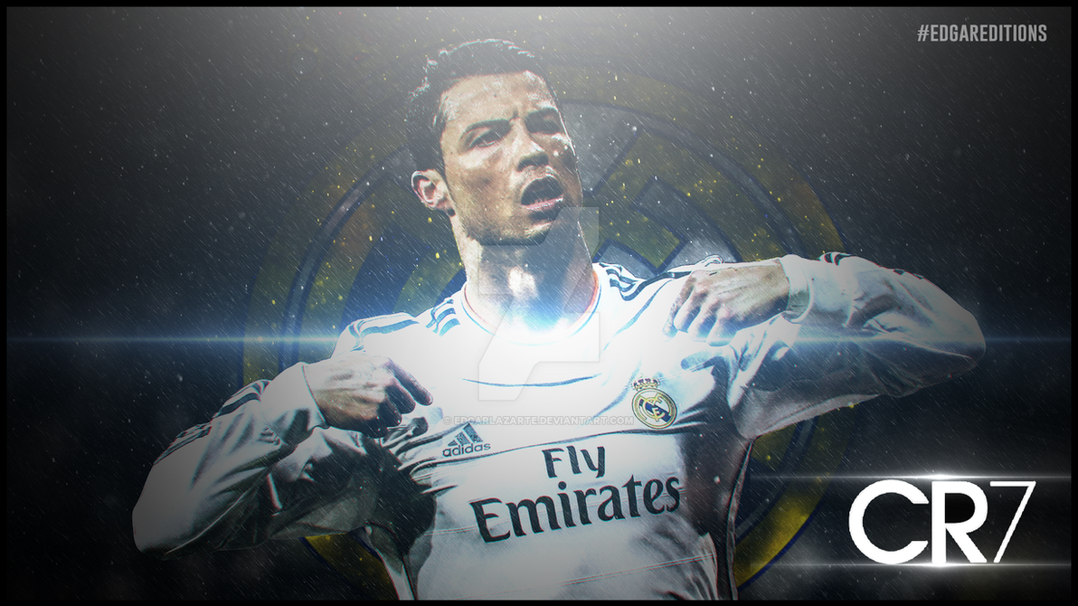 Cristiano Ronaldo Wallpaper HD By EdgarLazarte