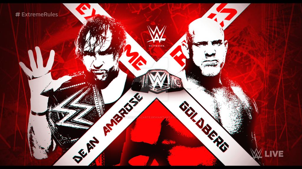 Wwe Extreme Rules 2018 Custom Match Card Hd By Edgarlazarte