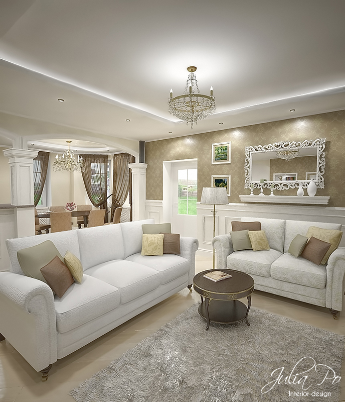 Beige house living room 2 by cheshindra on deviantart for Living room ideas beige walls