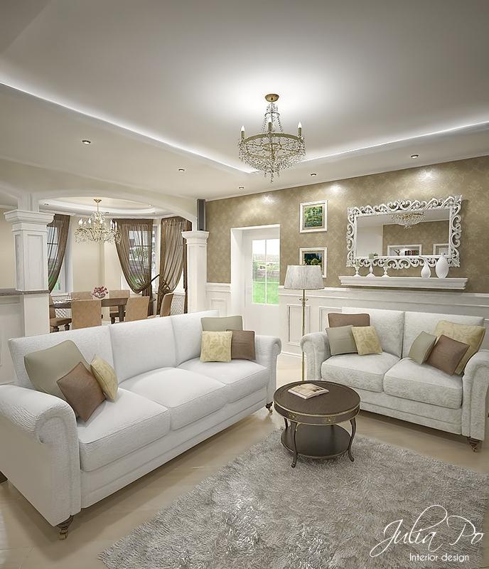 Beige house living room 2 by cheshindra on deviantart for Modern beige living room designs