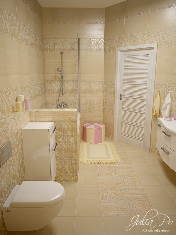 Bathroom for a girl 3 by cheshindra on deviantart for J b bathrooms wimborne