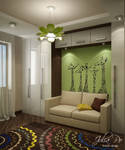 Children Room. Green - 2