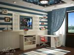 Children Room. Marine - 1 by CheShindra