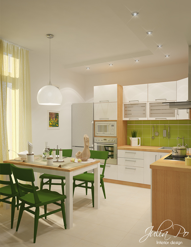 Scandinavian Kitchen - 1