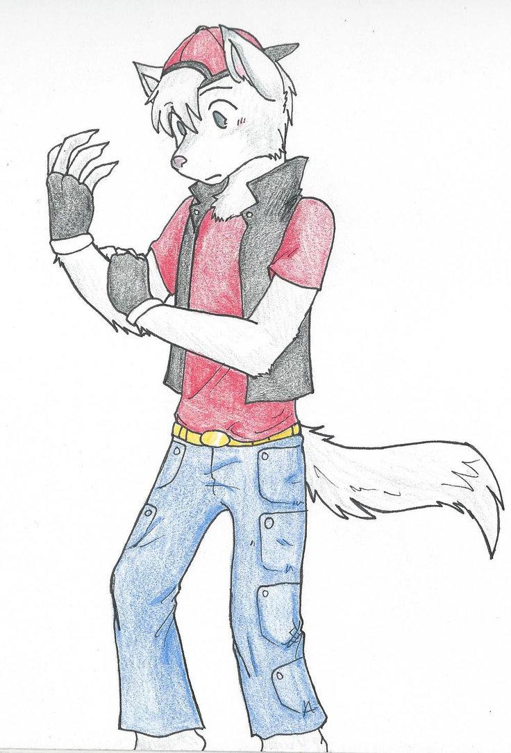 Wolf Anthro Boy Anthro Wolf by