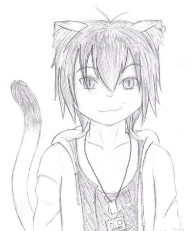 Anthro Cat Boy Anthro Cat Boy by