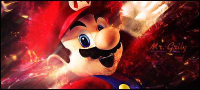 Mario Signature by Grily