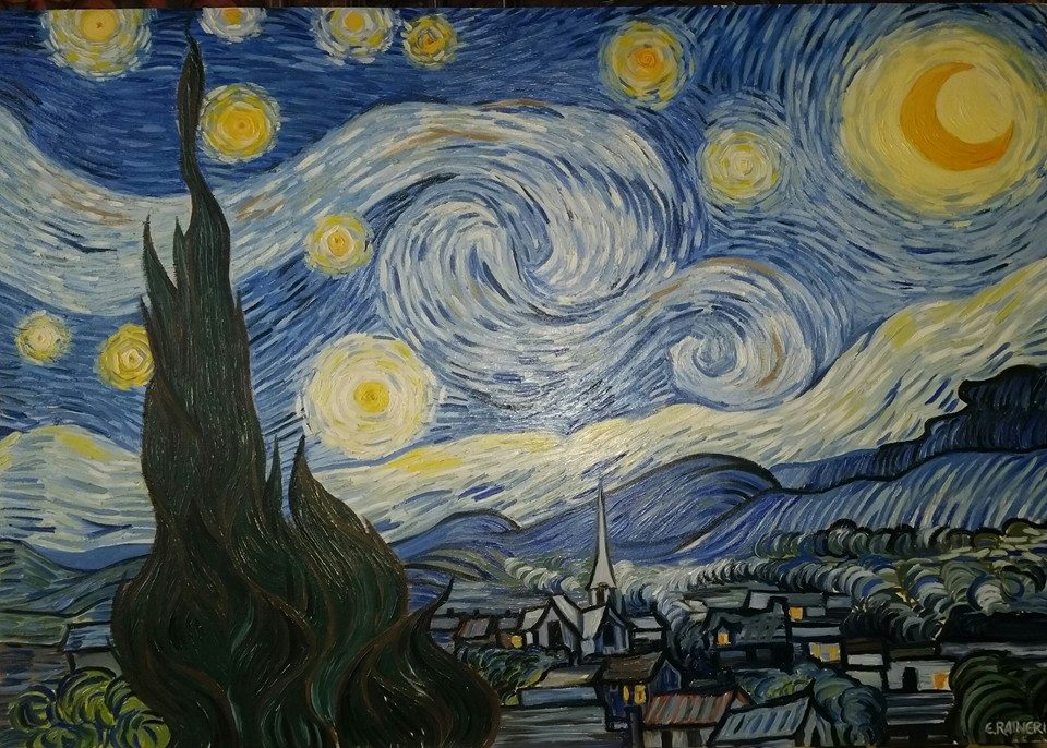 Starry Night Vincent Van Gogh By Elirain On Deviantart Click Starry Vincent