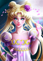 Princess Serenity by elirain